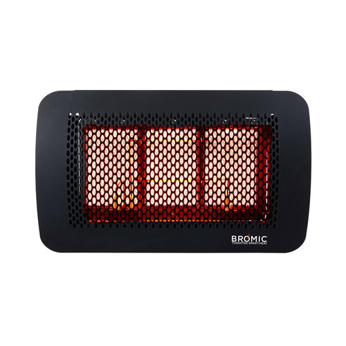 wall-mounted infrared heater / ceiling / gas / commercial