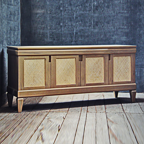 contemporary sideboard / teak
