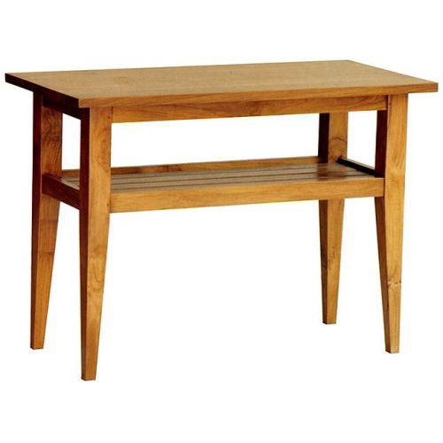 Contemporary side table / teak / mahogany / rectangular BASIC : C.ET5 WARISAN