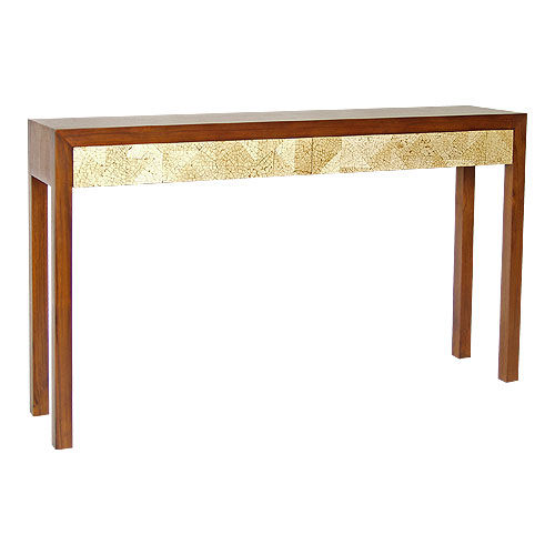Contemporary sideboard table / wooden / rectangular DECO : C.CO29 WARISAN