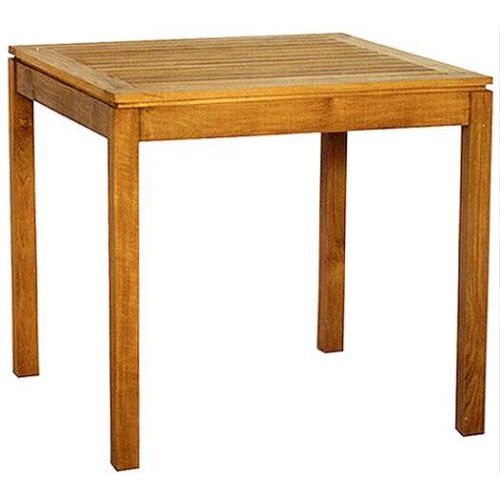 Contemporary table / teak / rectangular / garden BEVEL : G.T4 WARISAN