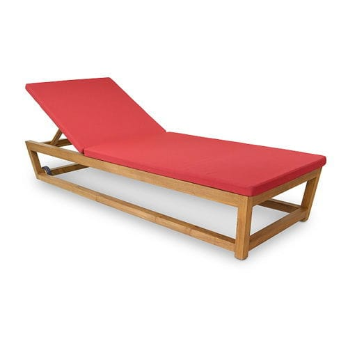 Contemporary sun lounger / wooden / pool KOROGATED : G.PL52 WARISAN