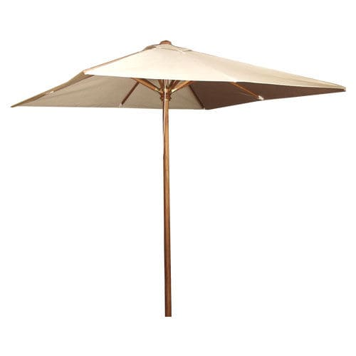 Wooden patio umbrella TF 2035 SQ WARISAN