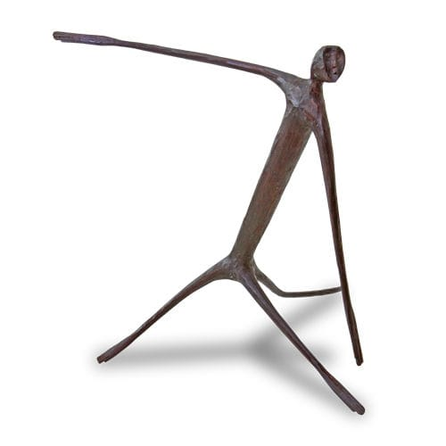 Wooden sculpture MONKEY : TBA WARISAN