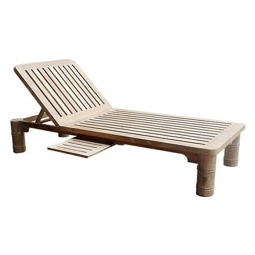 Contemporary sun lounger / wooden / pool G.PL6 WARISAN