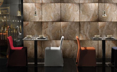 Natural stone decorative panel / marble / for interior fittings / wall-mounted FOULARD by Raffaello Galiotto Lithos Design