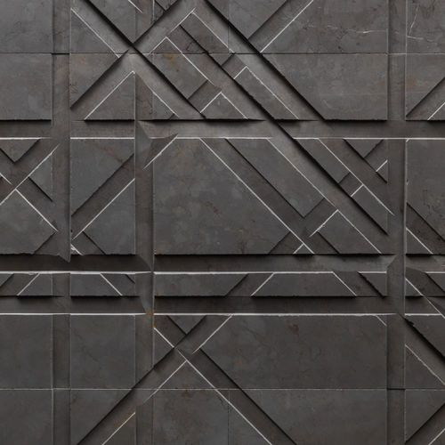 Decorative panel / natural stone / marble / for interior fittings TARTAN by Raffaello Galiotto Lithos Design