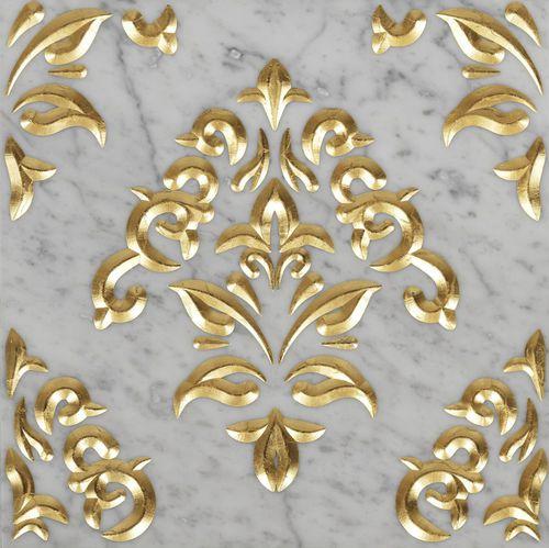 Bathroom tile / living room / wall / marble LUXURY 6 by Raffaello Galiotto Lithos Design