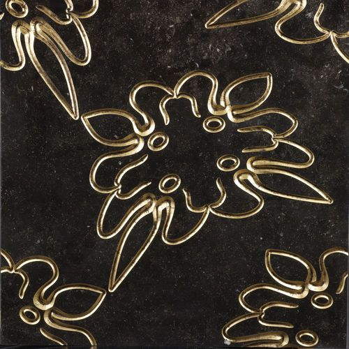 Wall tile / marble / floral / nature pattern LUXURY 3 by Raffaello Galiotto Lithos Design