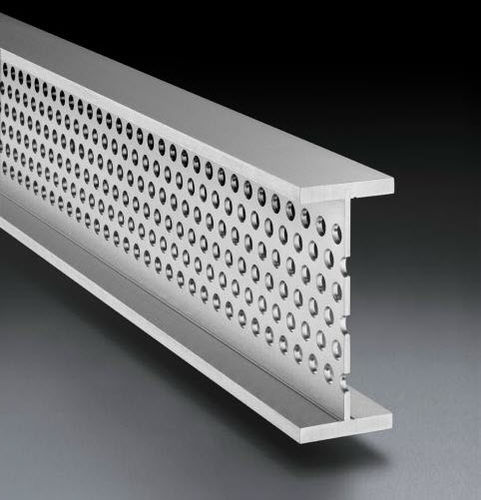 Steel profile / stainless steel / U-shaped / T ROLL-FORMED  Montanstahl