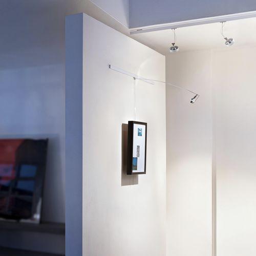 contemporary picture light / aluminum / LED