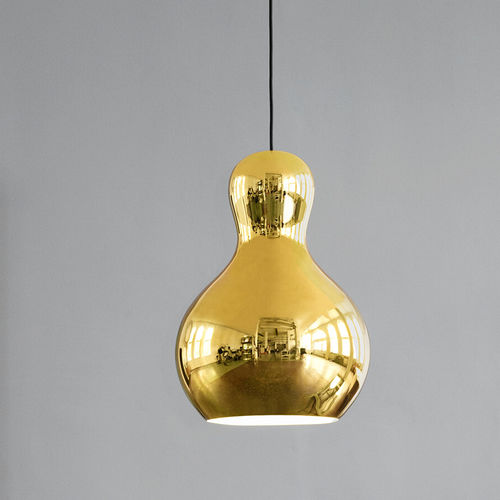 pendant lamp / contemporary / aluminum / compact fluorescent