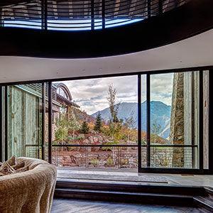 Sliding Patio Door / Wooden / Aluminum / Double Glazed. MARVIN ULTIMATE  MARVIN