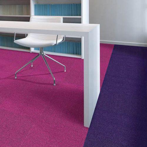Carpet tile / loop pile / polyamide / commercial ORIGAMI Balsan
