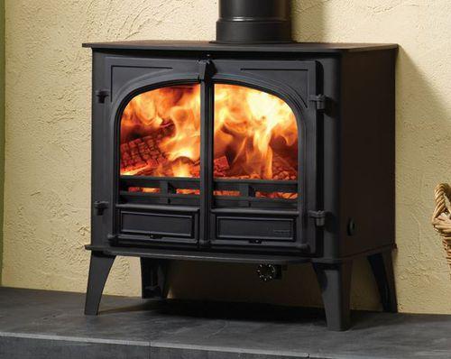 wood boiler stove / multi-fuel / traditional / metal