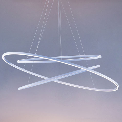 pendant lamp / contemporary / metal / dimmable