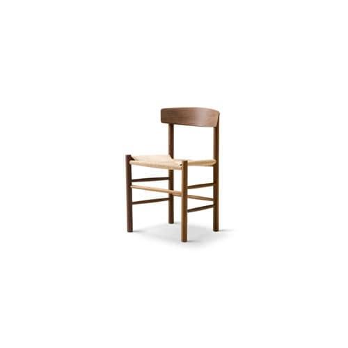 Scandinavian design chair / beech / oak / lacquered wood