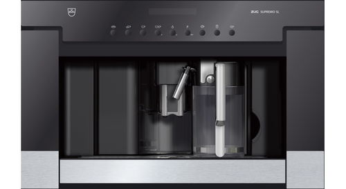 combined coffee machine / fully-automatic / built-in