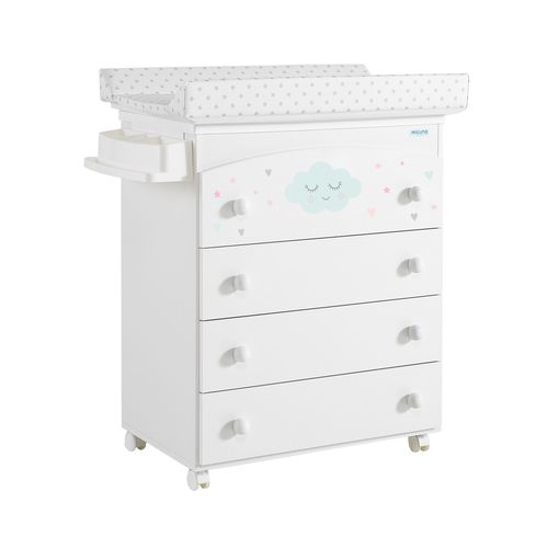 melamine changing table / free-standing