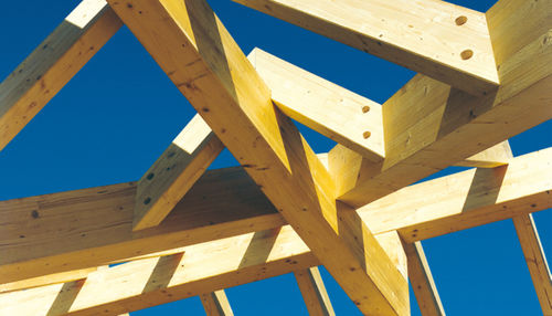 solid wooden truss / commercial