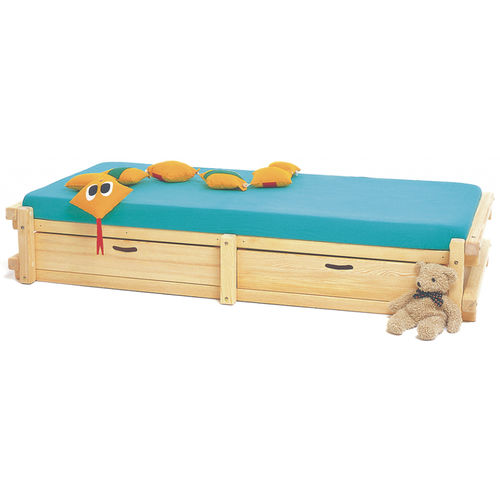 Single bed / contemporary / wooden / child's unisex MEMPHIS WOODLAND - Meubles pour enfants