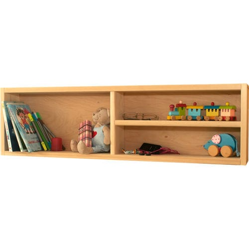 wall-mounted shelf / contemporary / child's unisex / with storage compartment