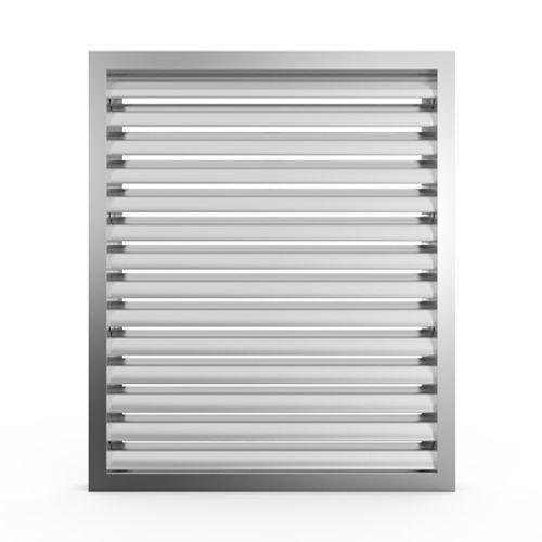 aluminum ventilation grill / rectangular / square / commercial