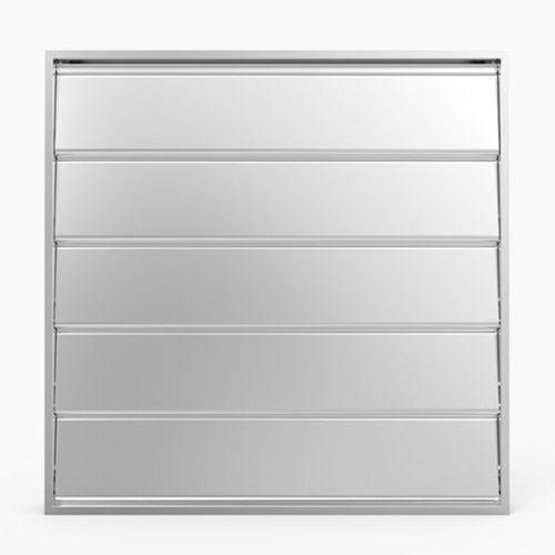 aluminum ventilation damper / for pressure relief / for buildings