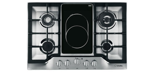 electric cooktop / gas / dual-fuel