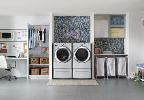 front-loading washing machine / Energy Star
