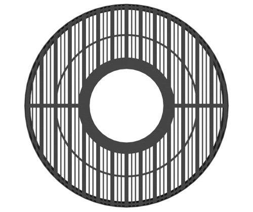 Metal tree grate / round BASIK RONDE GUYON