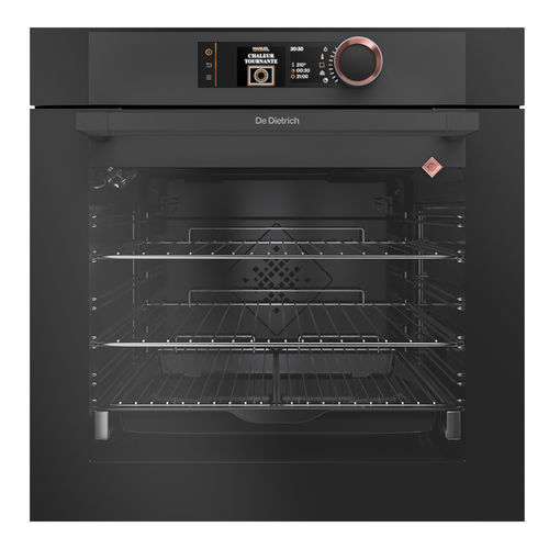 electric oven / multifunction / with grill / built-in