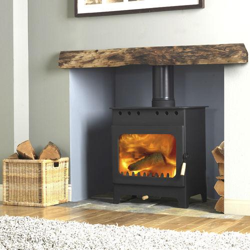 wood boiler stove / traditional / metal