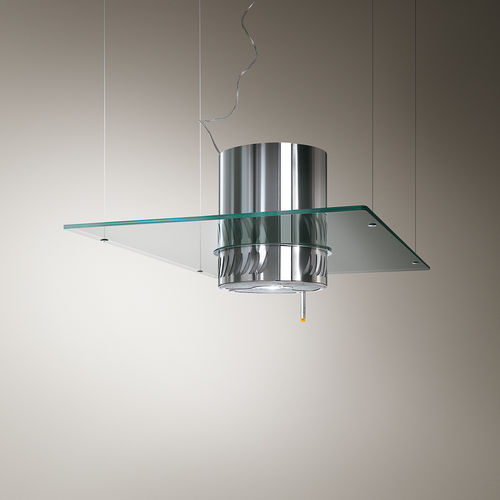 Island extractor hood / original design / with built-in lighting ISOLABELLA Elica