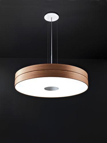 Pendant lamp / contemporary / wooden OPERA (S) by CS&R T. C. L. Davide Maggioni TRE CI LUCE