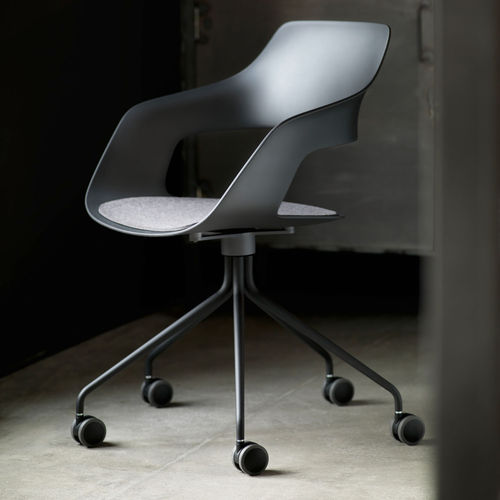 Contemporary office chair / on casters / with armrests / star base OCCO by Jehs+Laub Wilkhahn