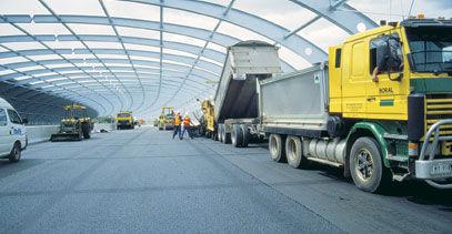 asphalt flooring / road / for parking lots / textured