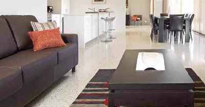 concrete flooring / residential / tertiary / polished