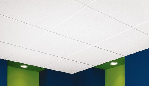 acoustic mineral fiber suspended ceiling CASHMERE&reg; Certain Teed