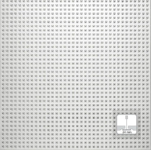 acoustic perforated gypsum plasterboard REF. 2324 Prefaes