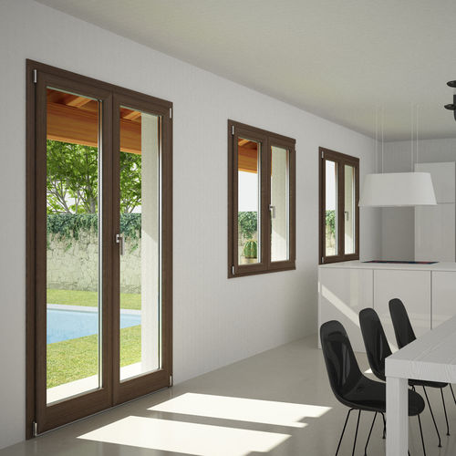 aluminium-wood casement window SK 80TT Starwood