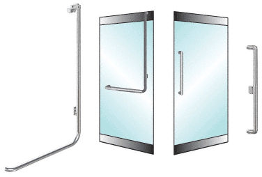 anti-panic door handle EG100X3RPPS  CR Laurence 