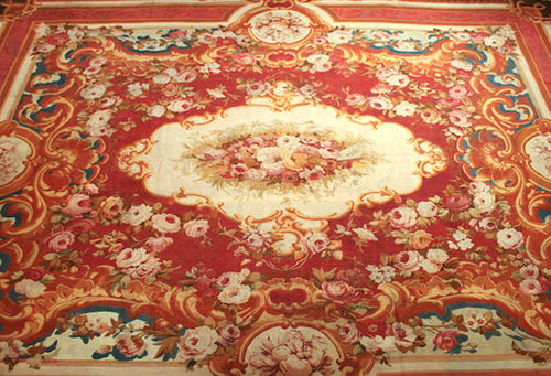 Aubusson rug 72422 	 STARK CARPET