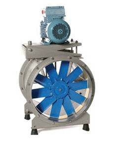 axial extractor fan BELT DRIVE Elta Fans