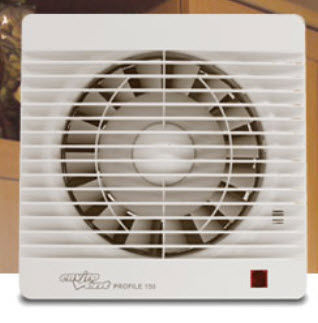 axial extractor fan PROFILE EnviroVent 