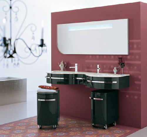 bathroom cabinet with casters SW1 oasis