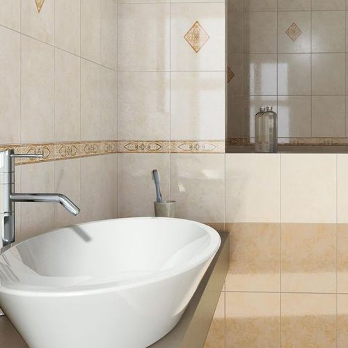 bathroom ceramic wall tile: marble look CORSICA MARAZZI