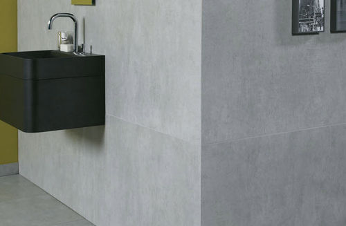 bathroom porcelain stoneware tile CEMENTO ZIRCONIO