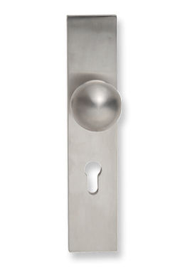 brass door handle K12TES Tecnoline