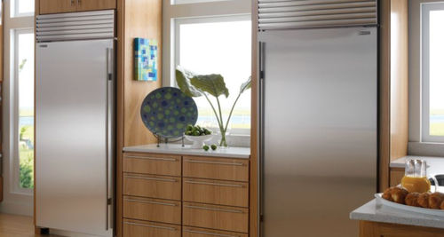 built-in energy efficient side by side refrigerator (Energy Star certified) BI-36R SUB-ZERO